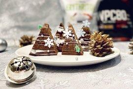 Fit perníkové vianočné stromčeky