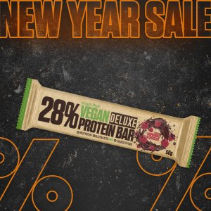 Vegan Protein Bar DeLuxe - Vegánska proteínová tyčinka