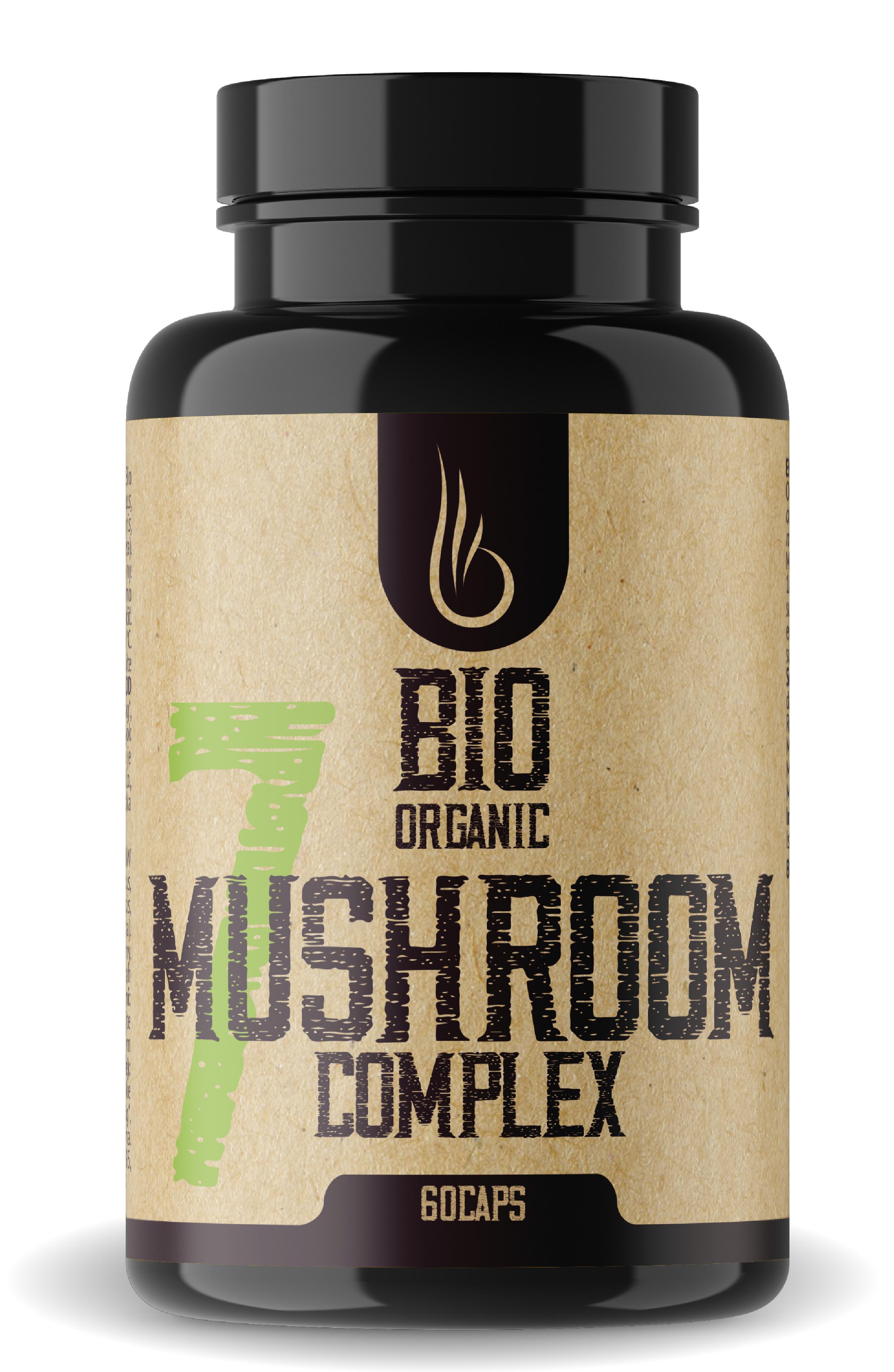 Bio 7 Mushroom Complex vegetariánske kapsuly 60 caps