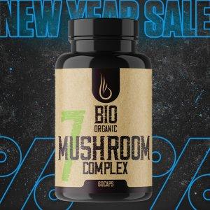 Bio 7 Mushroom Complex vegetariánske kapsuly