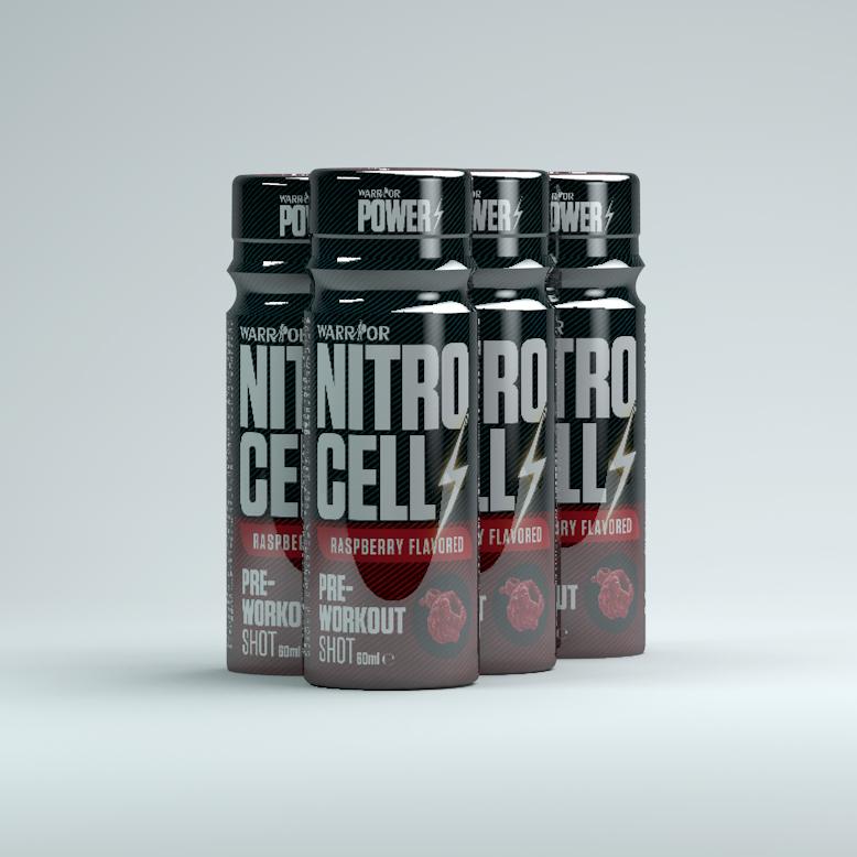 NitroCell Shot Pre-Workout 60ml Raspberry