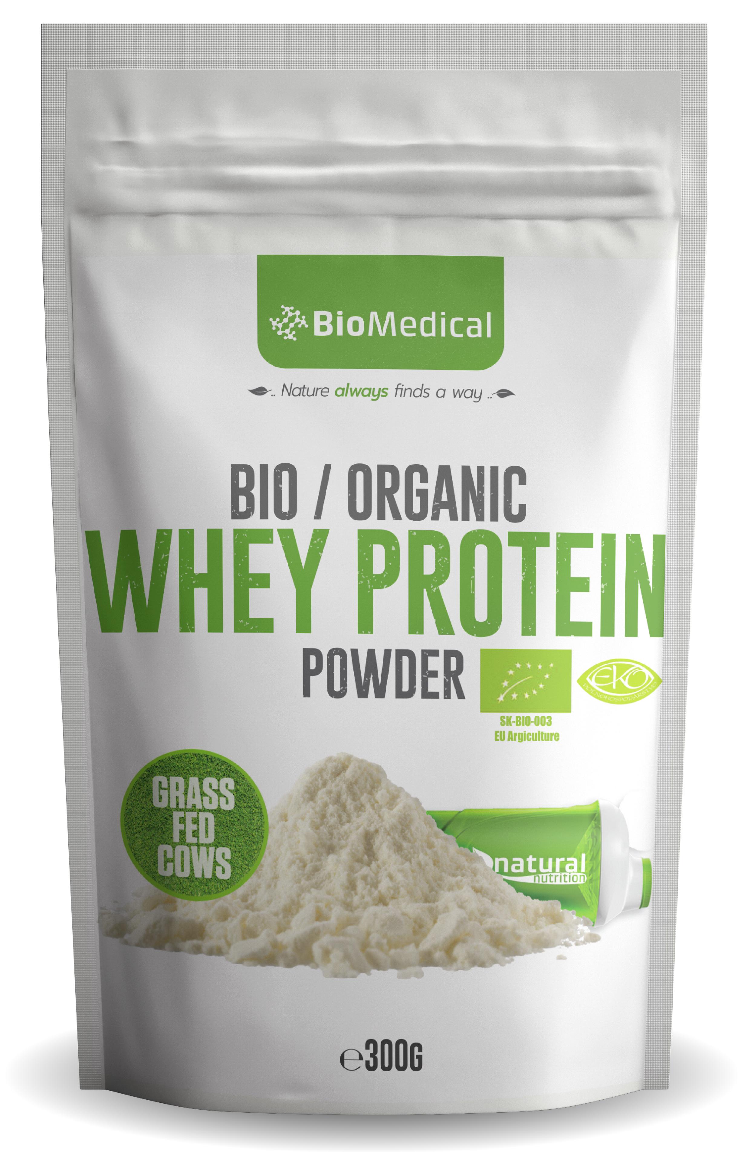 Organic Whey Protein - Bio srvátkový proteín Natural 300g