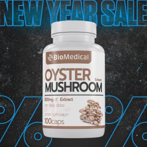 Oyster Mushroom Extract Capsules