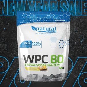 WPC 80 Stevia Sweet – srvátkový whey proteín