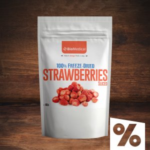 Freeze Dried Strawberries - Sliced