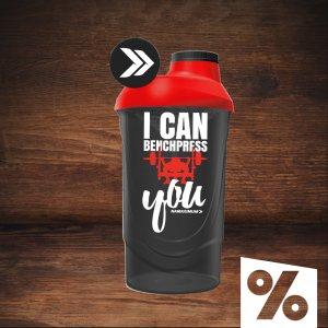 Shaker NaMaximum 600ml - I Can Benchpress You