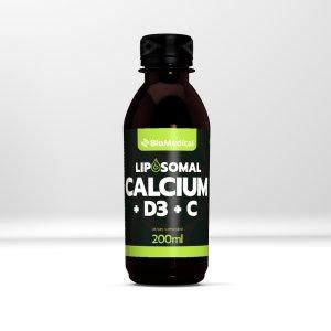 Liposomal Calcium + D3 + C - Lipozomální vápník, D3, C