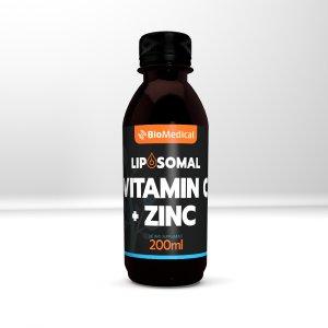 Liposomal Vitamin C + Zinc - Lipozomální vitamin C + zinek