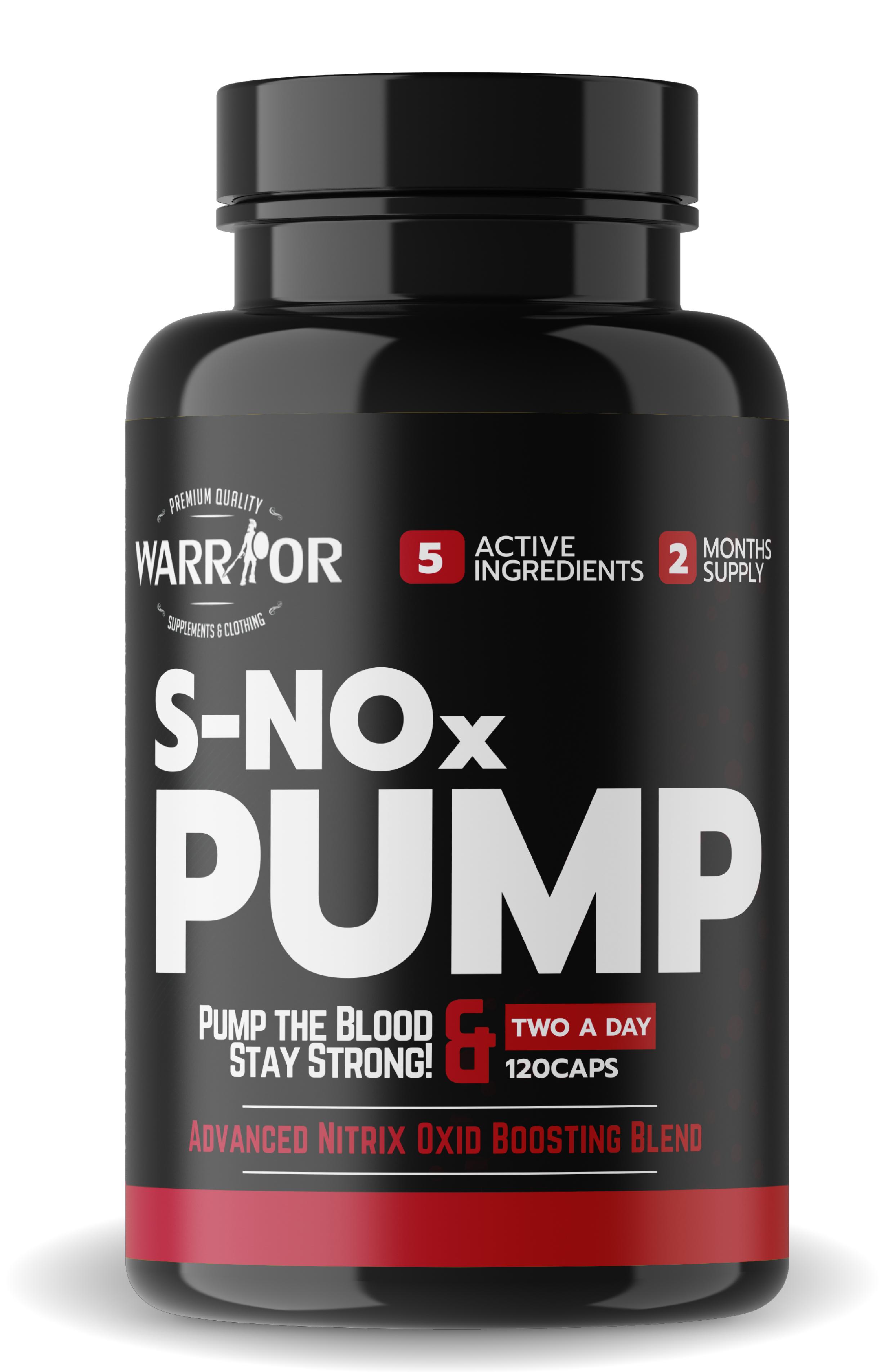 S-NOx Pump – pumpa v kapsulách 120 caps