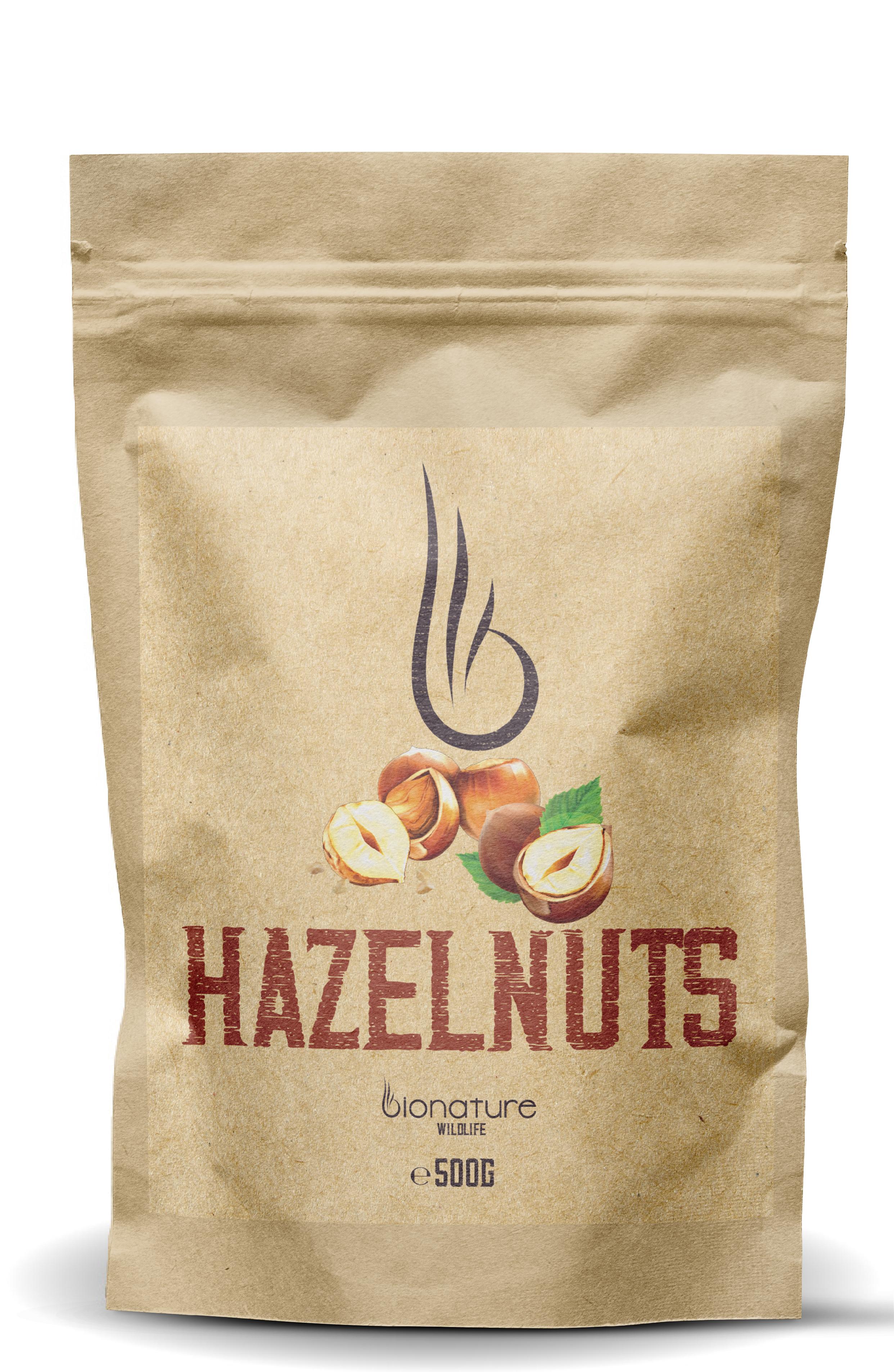 Lískové ořechy - BioNature 500g