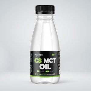 C8 MCT Olej - Warrior z kokosových orechov