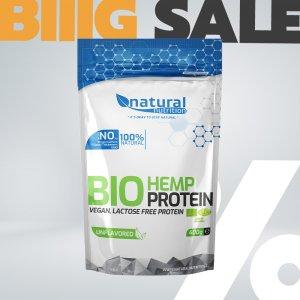 BIO Hemp Protein - konopný proteín