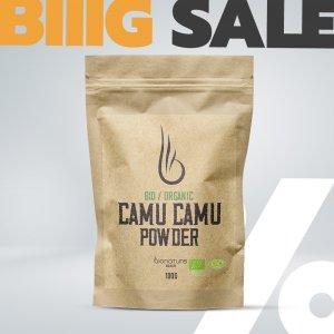 Bio Organic Camu Camu prášek - BioNature