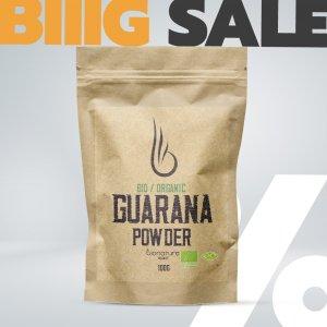 Bio Organic Guarana prášek - BioNature