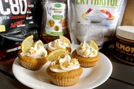 Recept na mrkvové muffiny plné bielkovín
