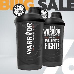 Shaker Warrior 600ml průhledný