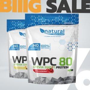 WPC 80 Stevia Sweet - tejsavó whey protein