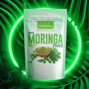Organic Moringa Powder - Bio Moringa v prášku