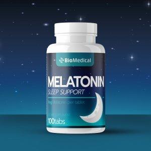 Melatonín tablety