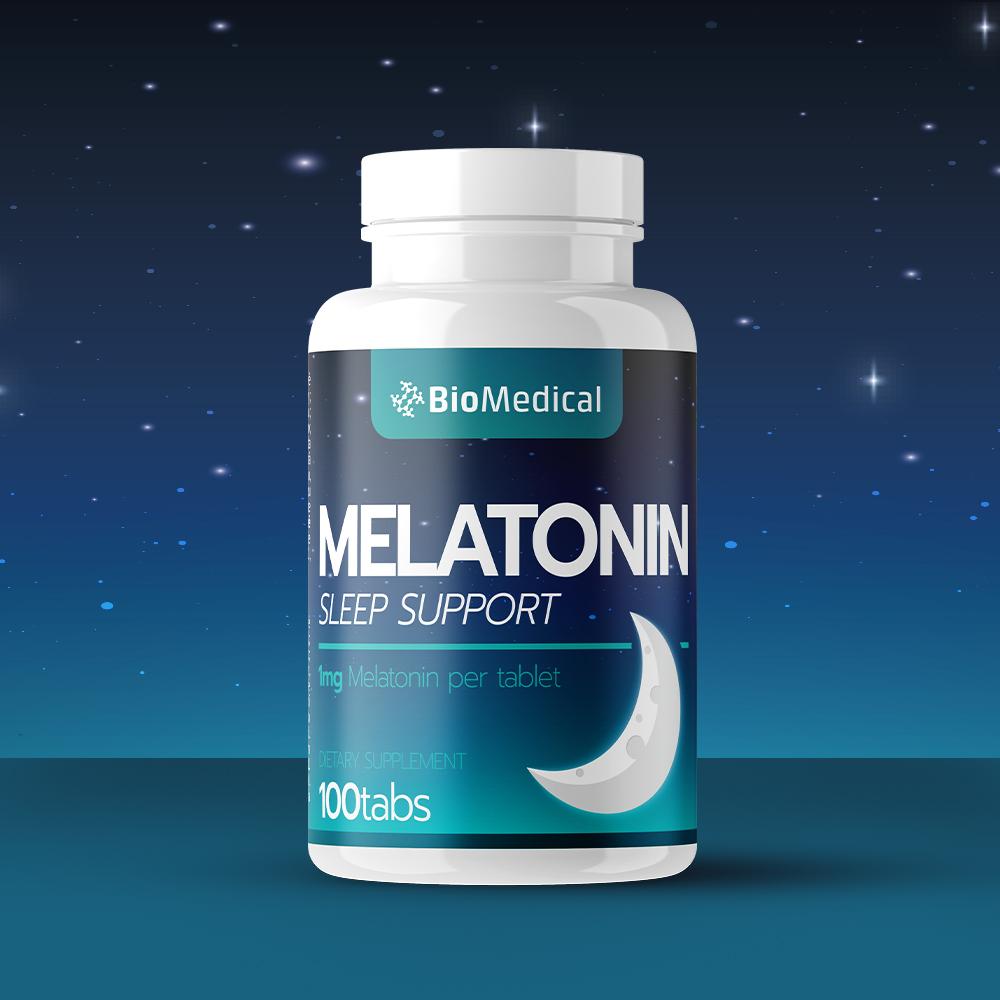 Melatonín tablety 100 tab