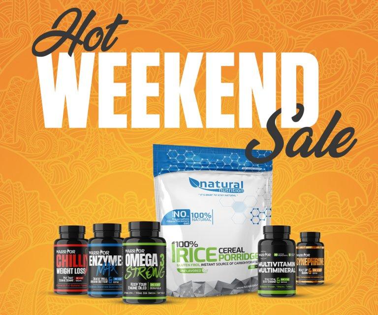 Hot weekend sale