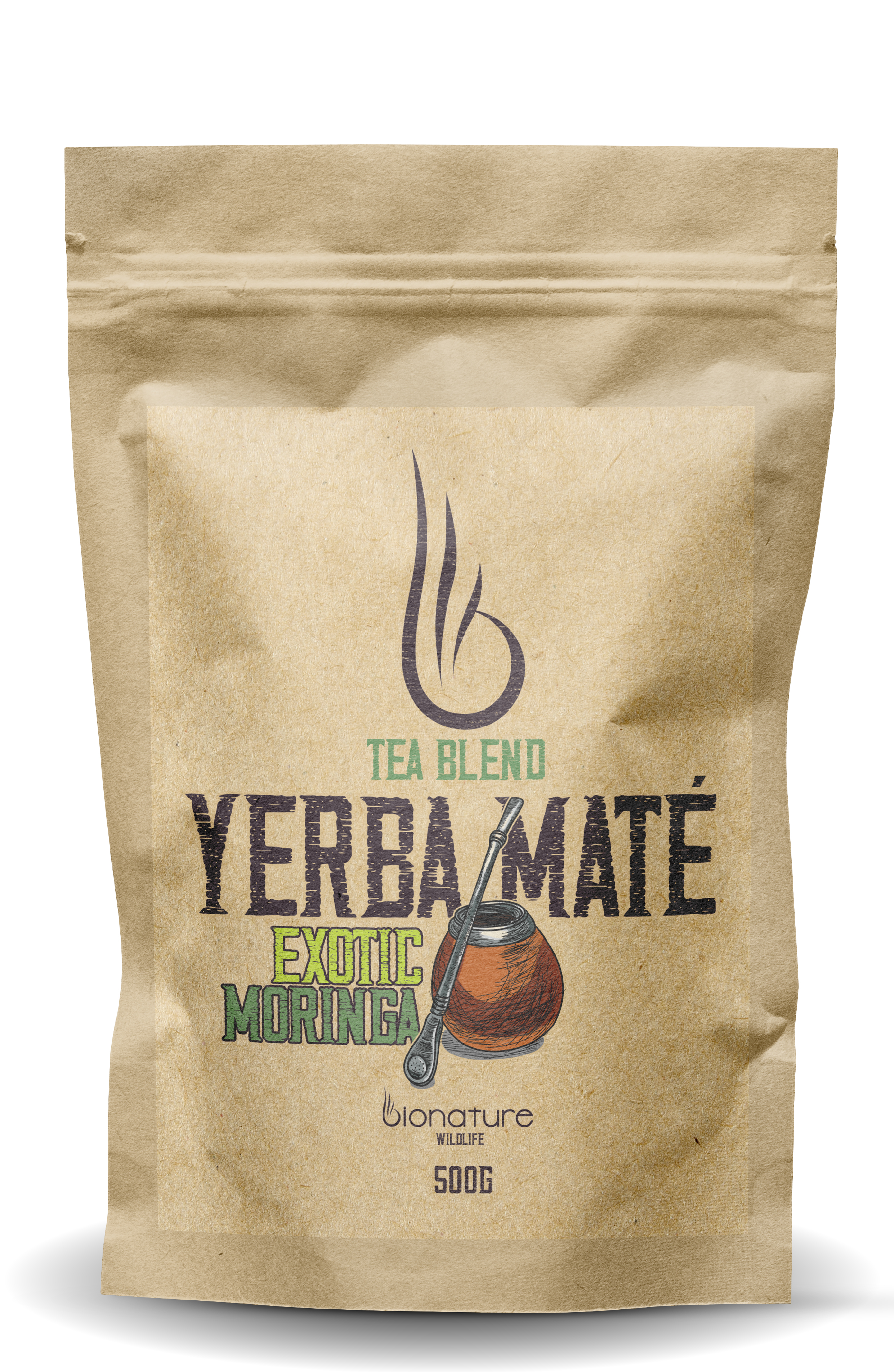 Yerba Maté Green - Exotic Moringa 500g