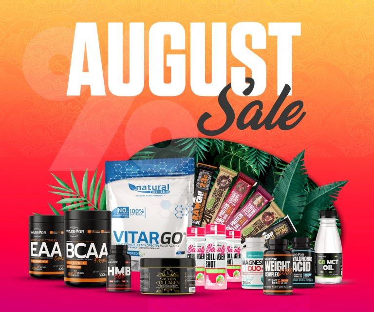August sale 2021