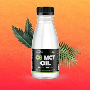 C8 MCT Olej - Warrior z kokosových ořechů