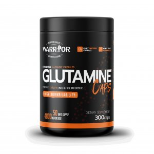 Warrior L-Glutamine – kapsle
