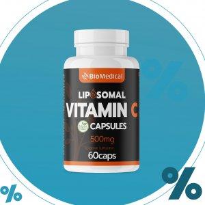 Lipozomálny Vitamín C v kapsulách