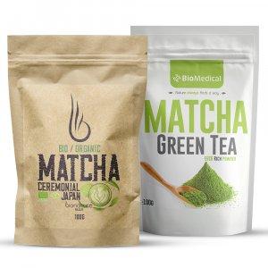 Matcha zelený čaj prášek