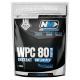 WPC 80 - srvátkový whey proteín Bez príchute 2kg