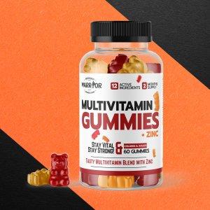 Multivitamín Gummies so zinkom