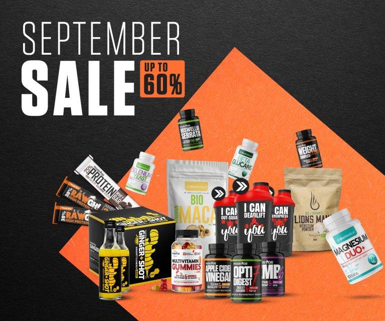 September Sale 2021