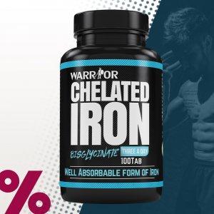 Chelated Iron - železo chelát