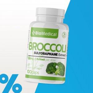 Sulforafán - Brokolicový extrakt kapsuly
